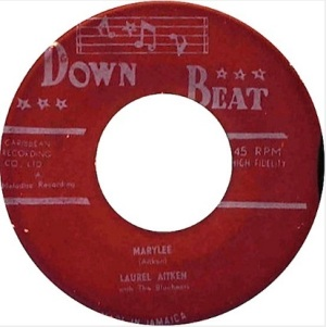 down beat label B